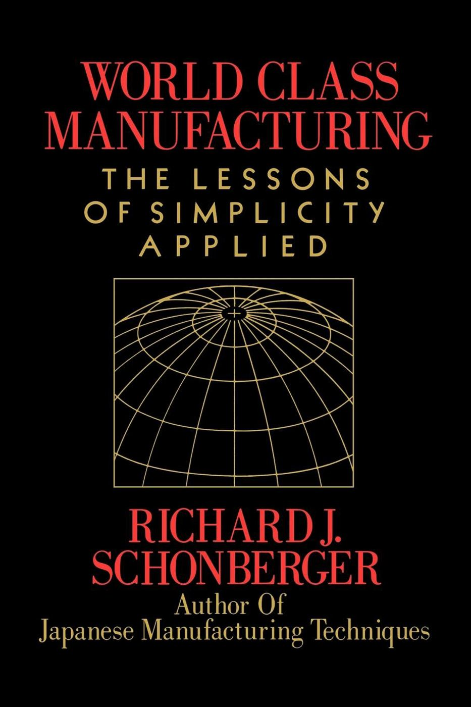 World Class Manufacturing: The Next Decade By: Richard J. Schonberger