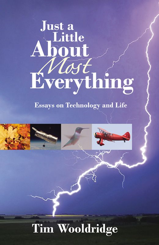 Just A Little About Most Everything: Essays On Technology And Life By: Tim Wooldridge