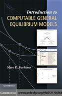 download Introduction to Computable General Equilibrium Models book