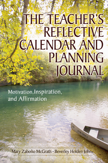 The Teacher's Reflective Calendar and Planning Journal