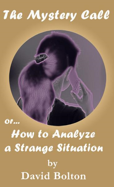 The Mystery Call or How to Analyze a Strange Situation By: David Bolton