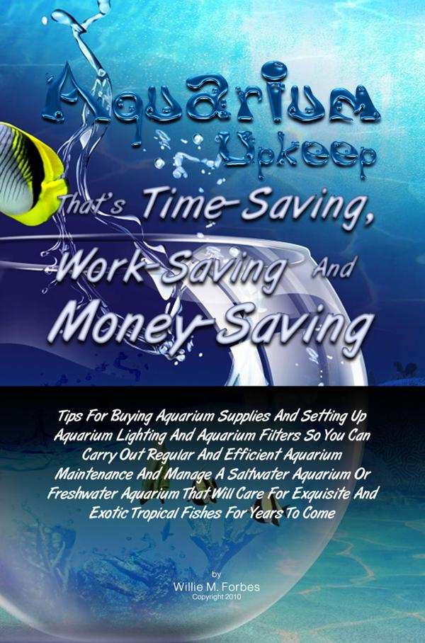 Aquarium Upkeep That's Time-Saving, Work-Saving And Money-Saving