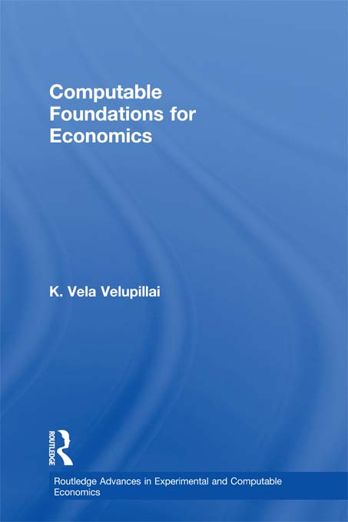 Computable Foundations for Economics