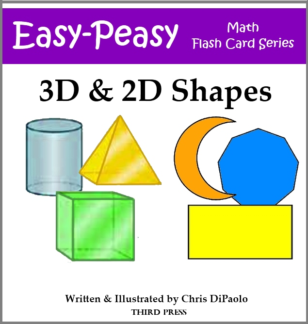 3D & 2D Shape Flash Cards