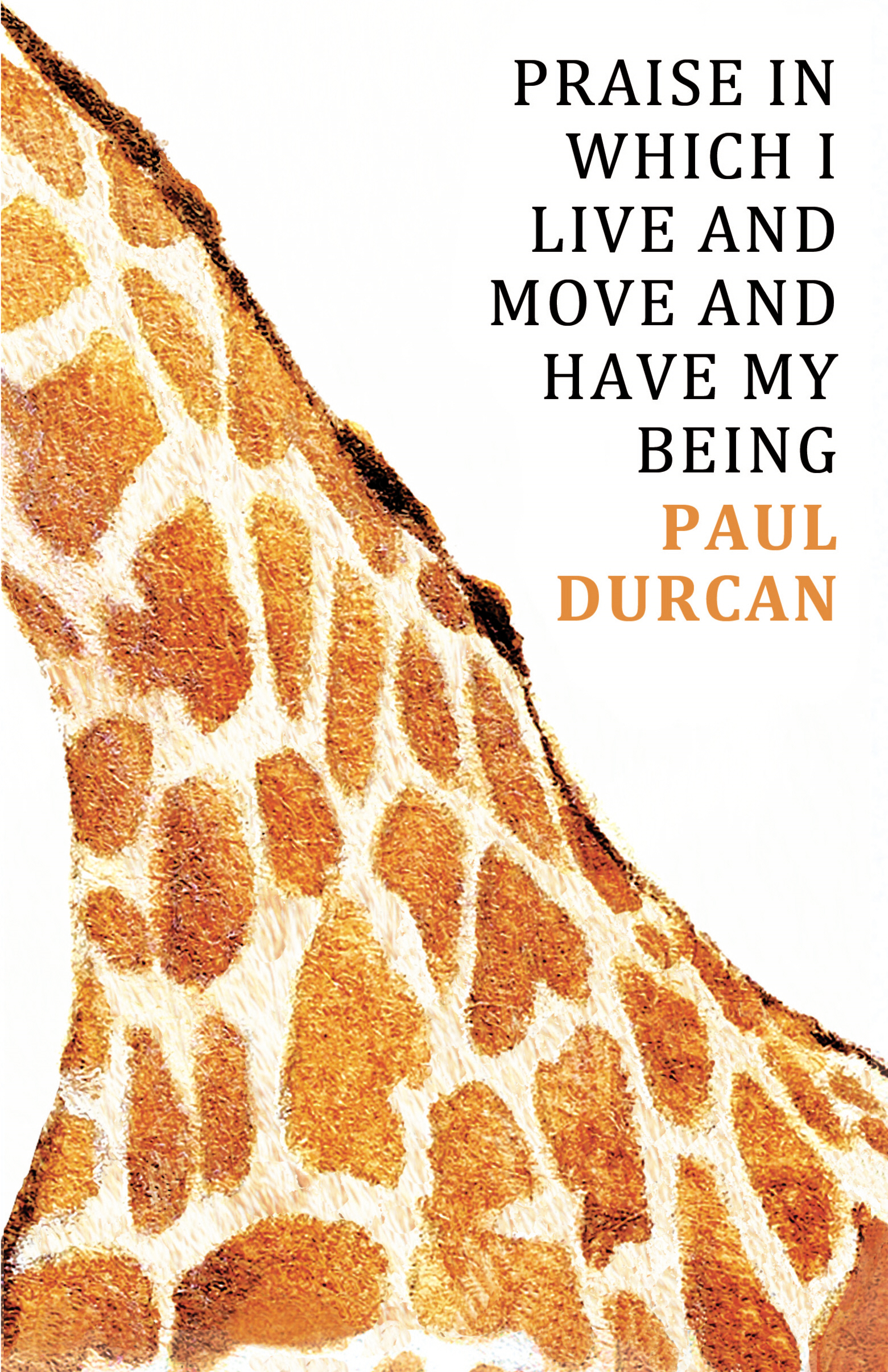 Praise in Which I Live and Move and Have my Being By: Paul Durcan