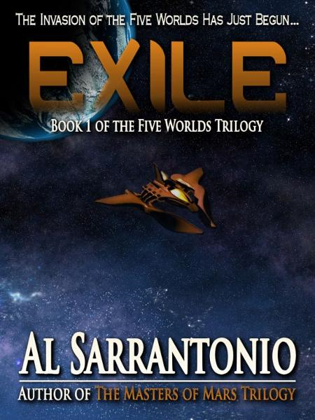 Exile: Book I of the Five Worlds Trilogy