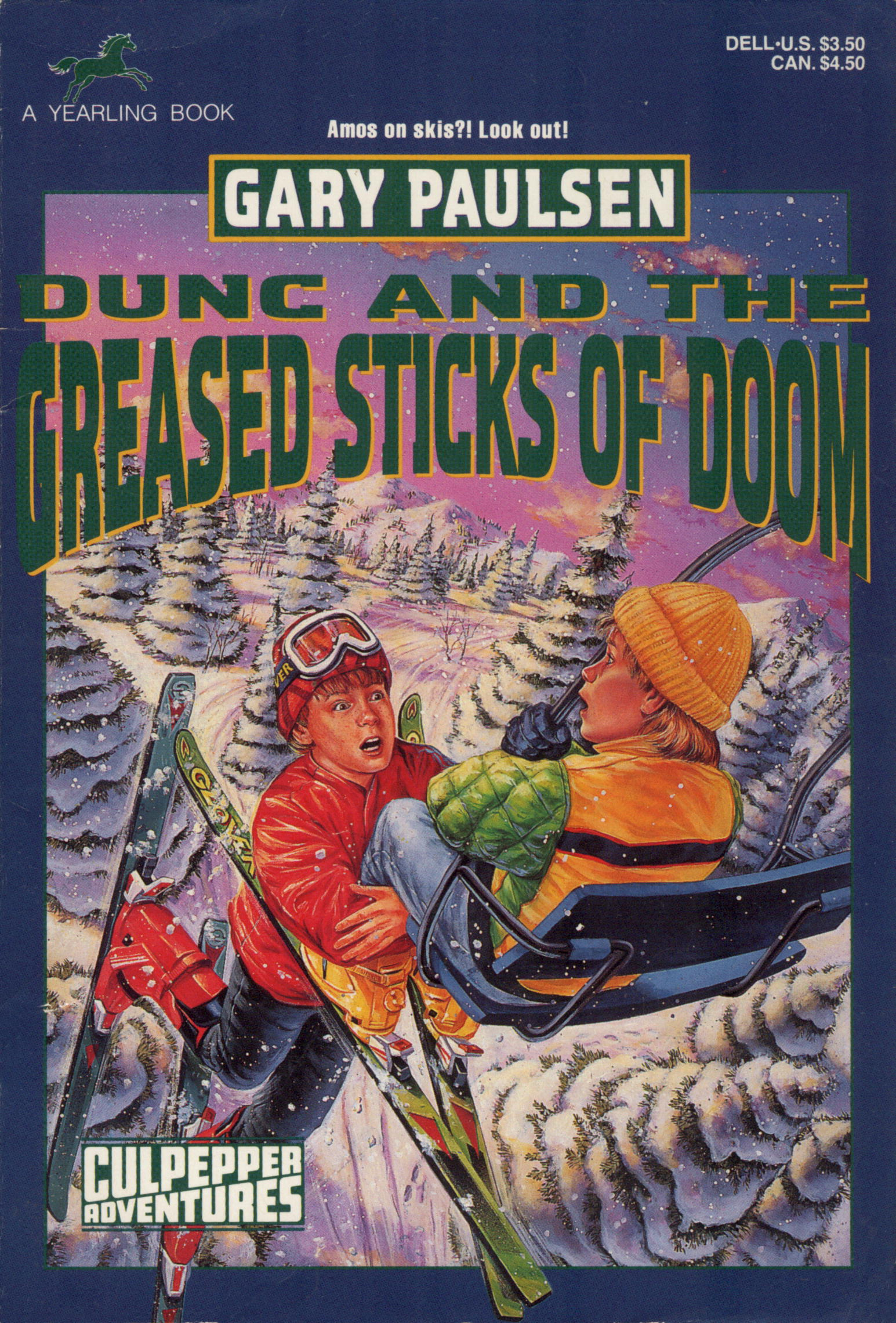 DUNC AND THE GREASED STICKS OF DOOM