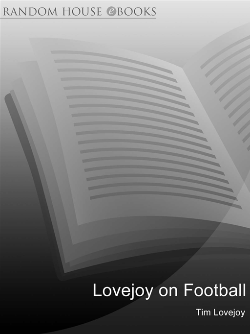Lovejoy on Football By: Tim Lovejoy