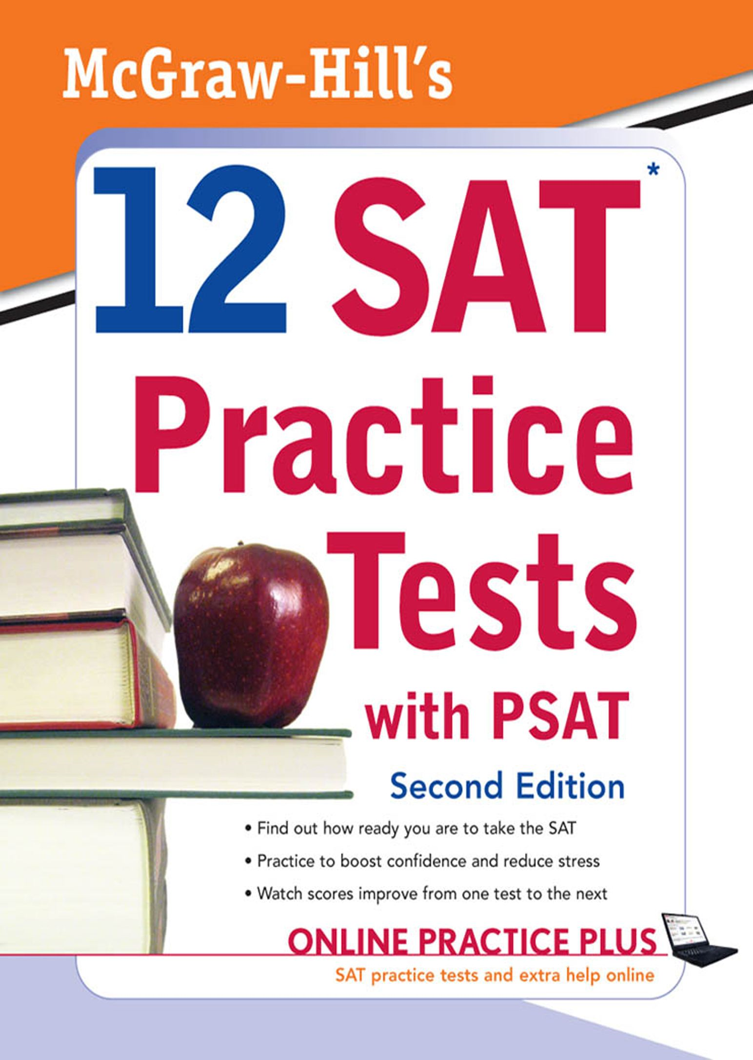 McGraw-Hill's 12 SAT Practice Tests with PSAT 2ed