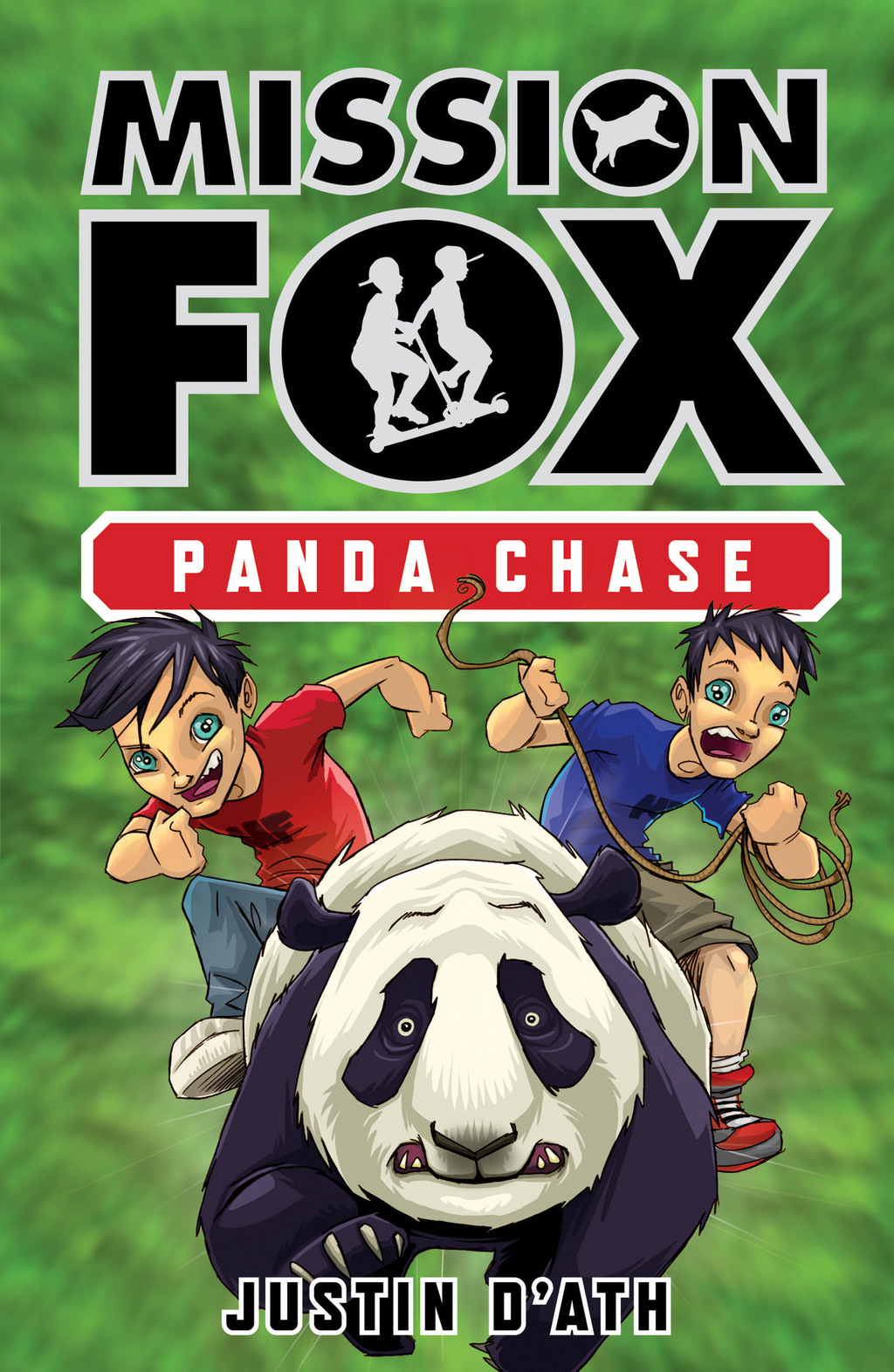 Panda Chase: Mission Fox Book 2 By: Justin D'Ath,Heath McKenzie