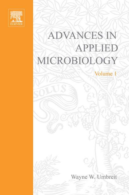 ADVANCES IN APPLIED MICROBIOLOGY VOL 1