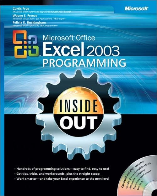 Microsoft® Office Excel 2003 Programming Inside Out