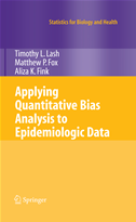 Applying Quantitative Bias Analysis To Epidemiologic Data: