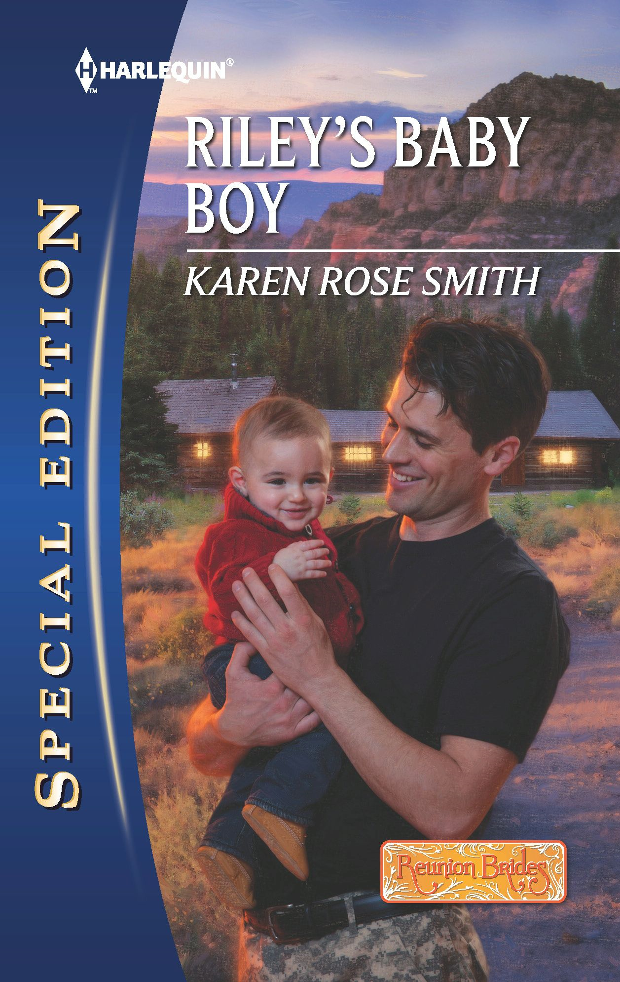Riley's Baby Boy By: Karen Rose Smith