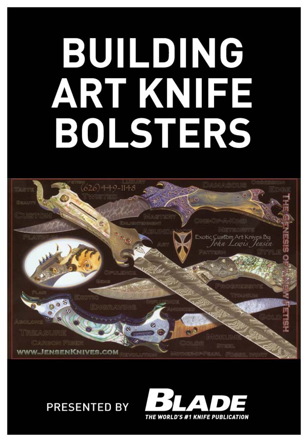 Building Art Knife Bolsters