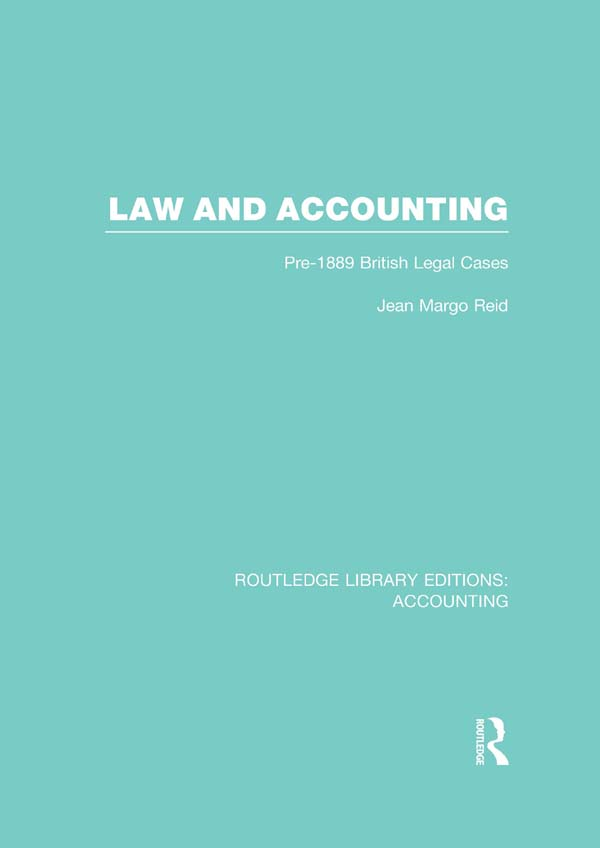Law and accounting : pre-1889 British legal cases Pre-1889 British Legal Cases