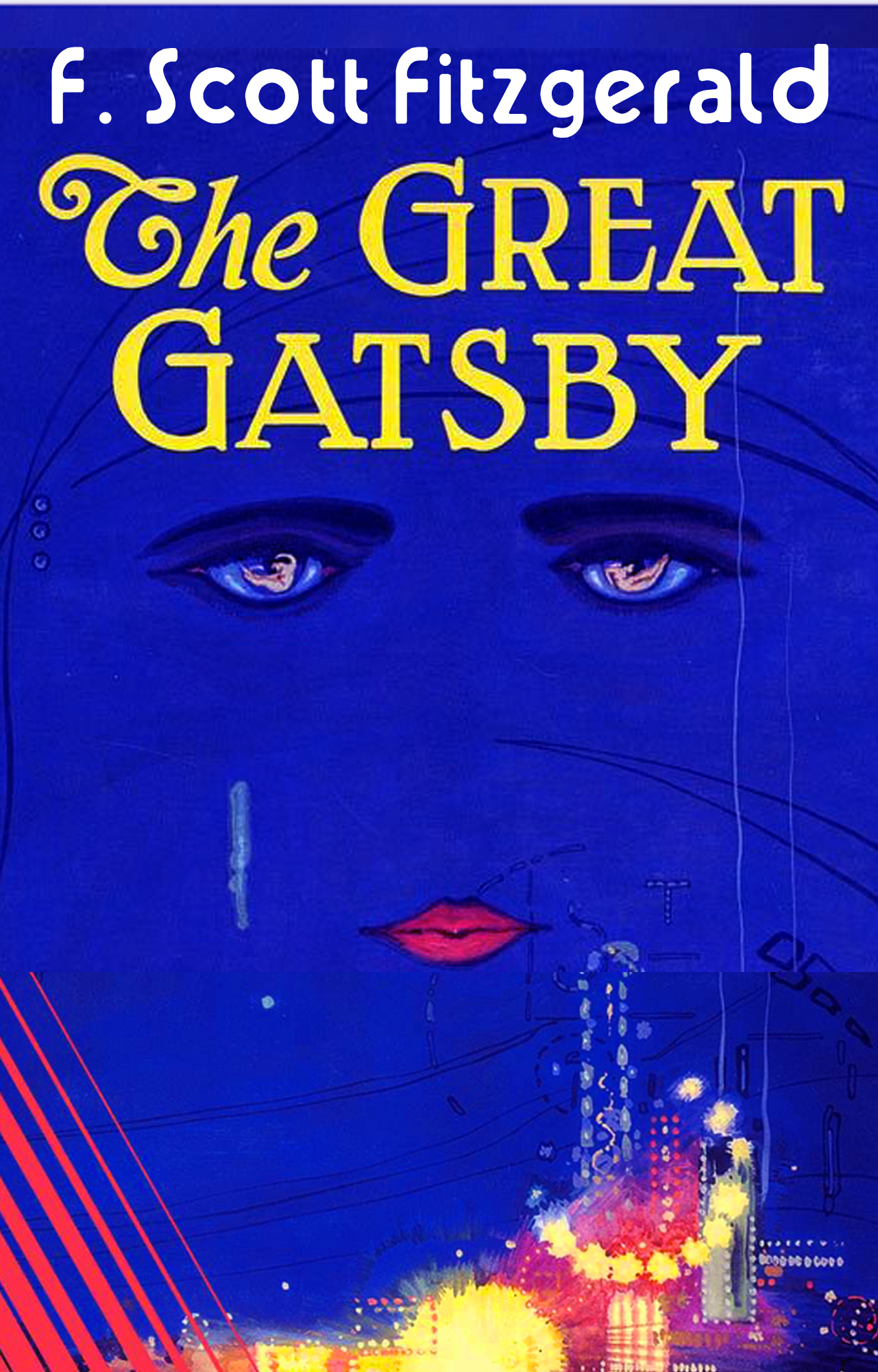 The Great Gatsby (Clickable TOC & NEW illustrations)