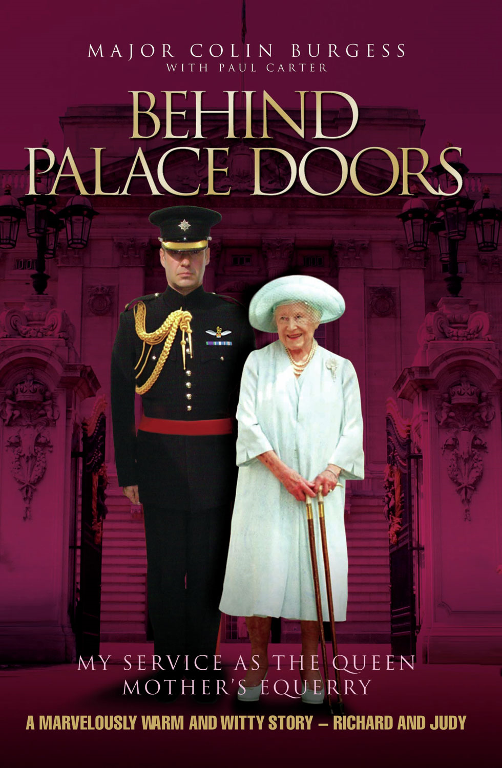Behind Palace Doors By: Major Colin Burgess,Paul Carter