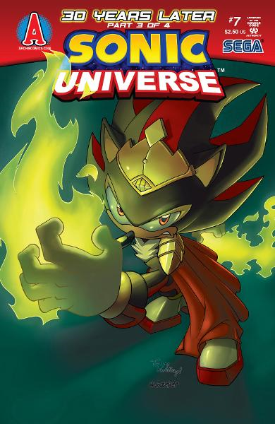 Sonic Universe #7 By: Ian Flynn, Tracy Yardley!