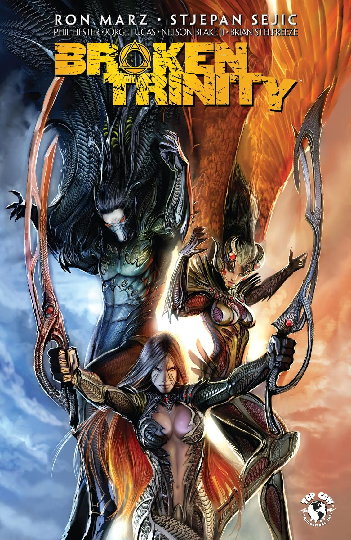 Broken Trinity: Prelude By: Ron Marz, Stjepan Sejic, Troy Peteri, Rob Levin, Kenneth Rocafort