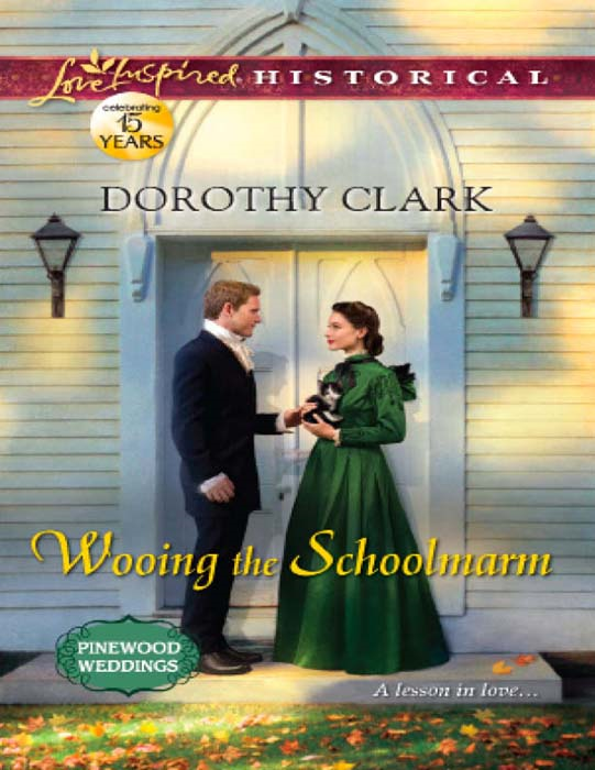Wooing the Schoolmarm (Mills & Boon Love Inspired Historical) (Pinewood Weddings - Book 1)