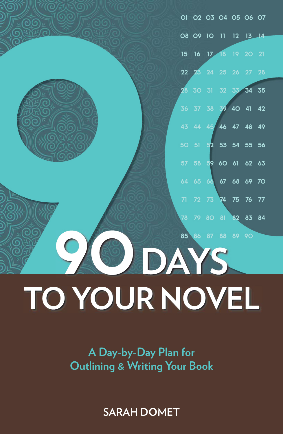 90 Days to Your Novel: A Day-by-Day Plan for Outlining & Writing Your Book By: Sarah Domet
