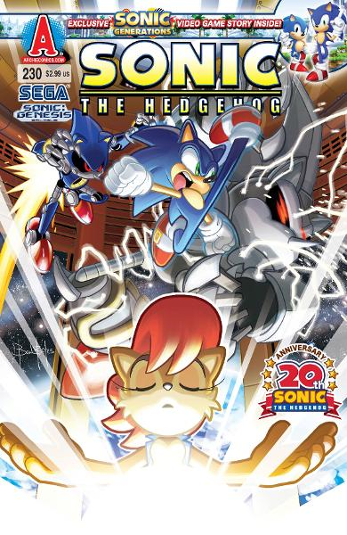 Sonic #230 By: Ian Flynn, Ben Bates, Jamal Peppers, Matt Herms, Terry Austin, John Workman