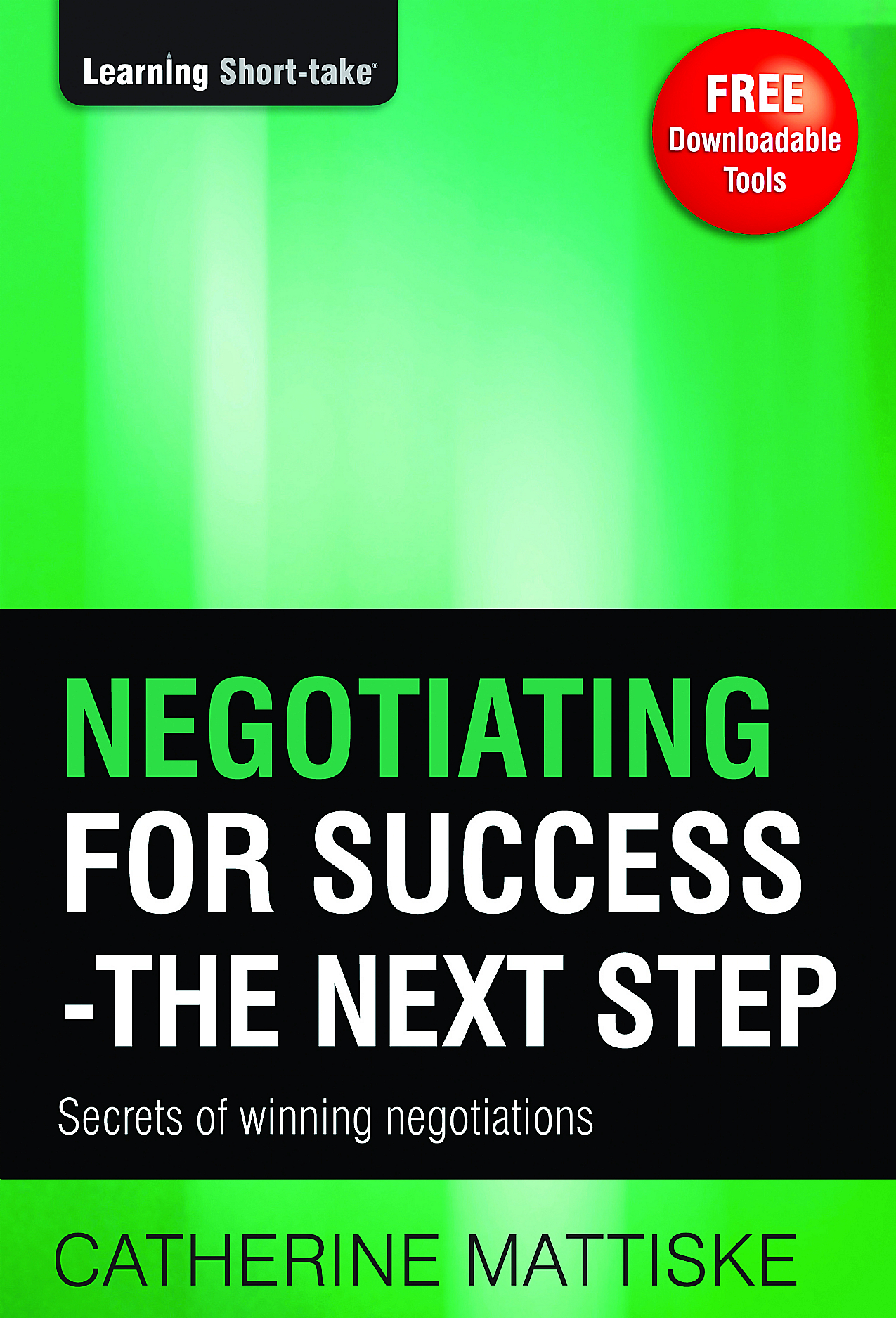 Negotiating for Success  The Next Step
