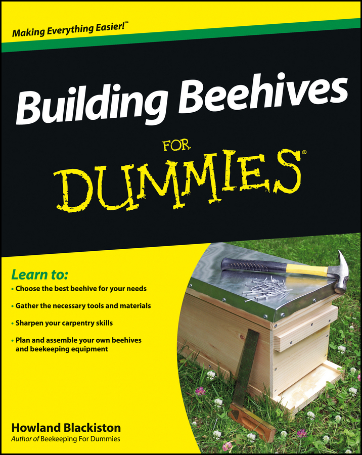Book Cover: Building Beehives For Dummies