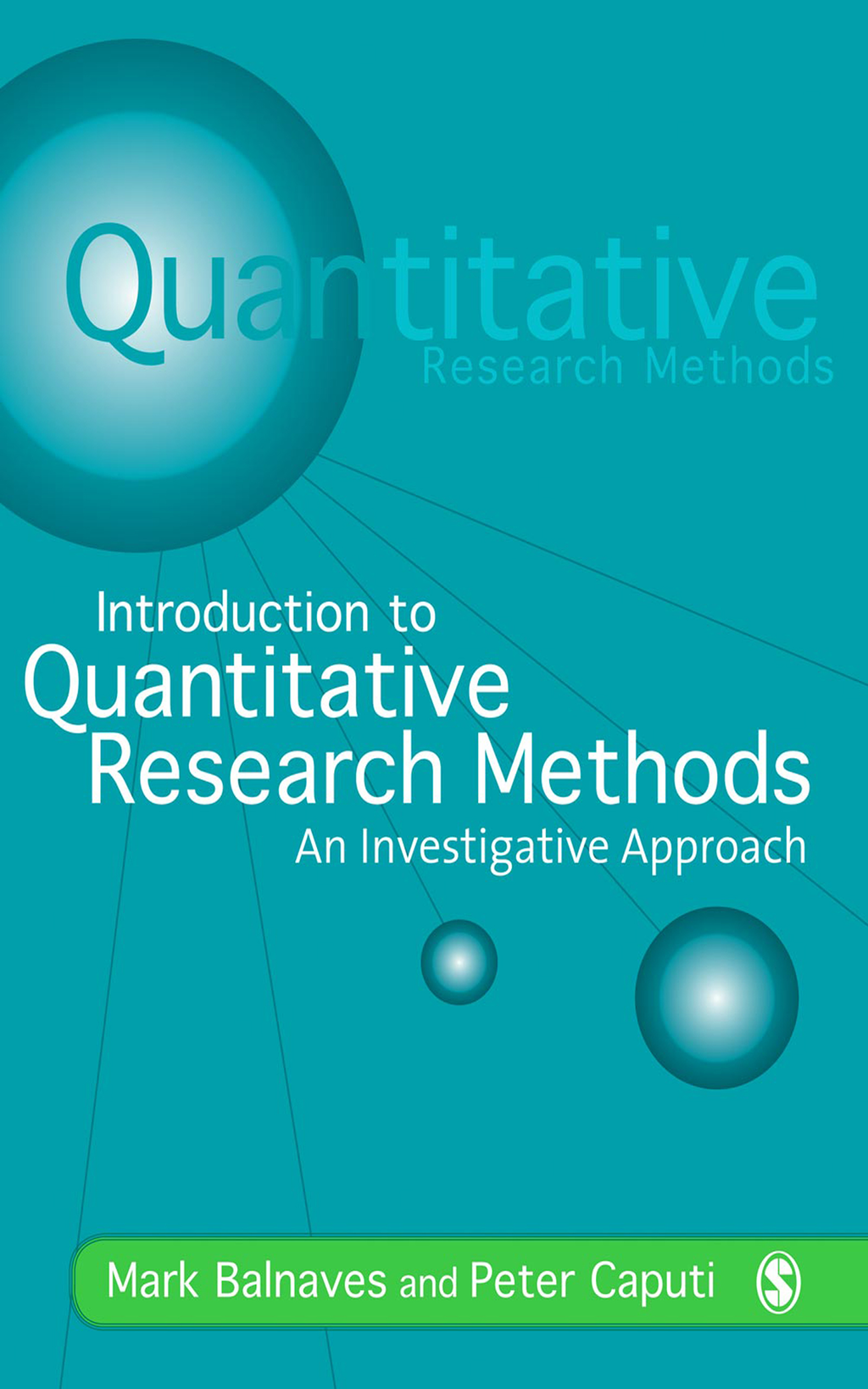 Introduction to Quantitative Research Methods An Investigative Approach