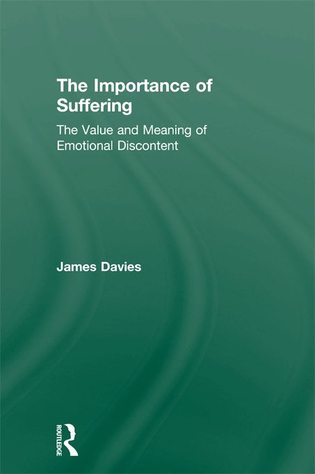 The Importance of Suffering By: James Davies