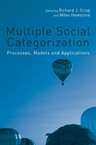 Multiple Social Categorization Processes,  Models and Applications