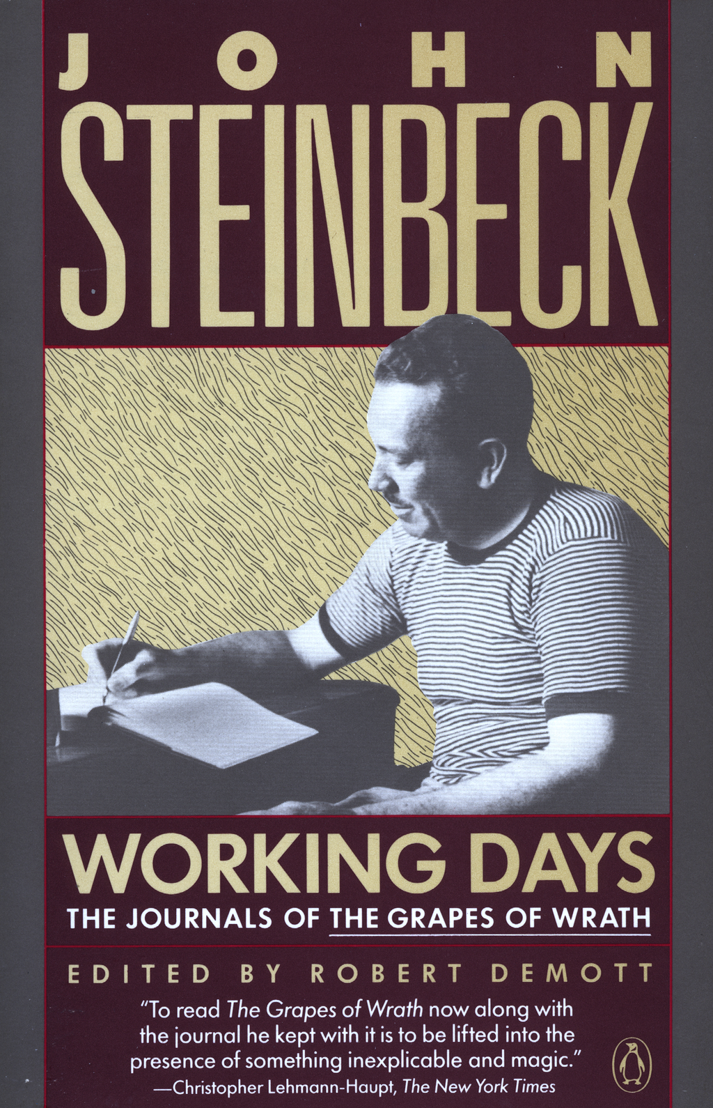 Working Days By: John Steinbeck