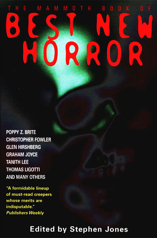 The Mammoth Book of Best New Horror 2002 By: Stephen Jones