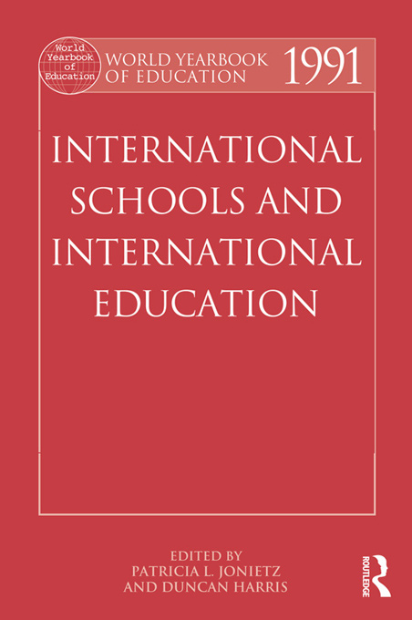World Yearbook of Education 1991 By: