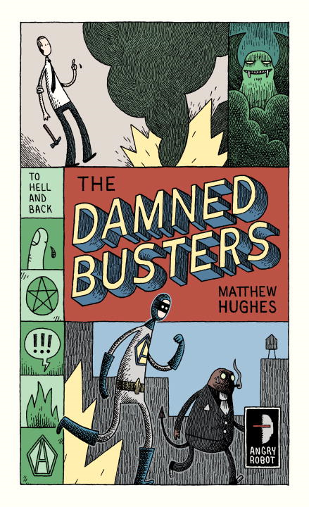 Cover Image: The Damned Busters