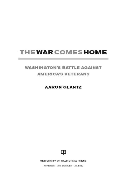 The War Comes Home By: Aaron Glantz