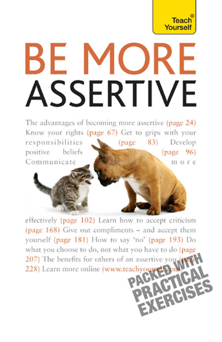 Be More Assertive By: Suzie Hayman