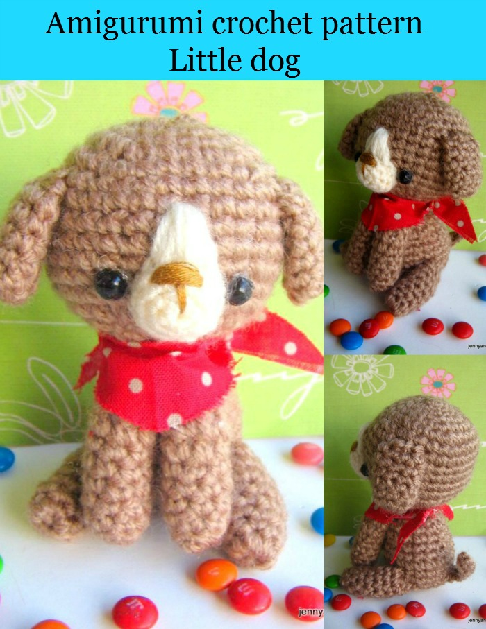 amigurumi crochet pattern little dog