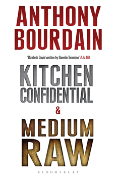 Tony Bourdain boxset: Kitchen Confidential & Medium Raw Kitchen Confidential & Medium Raw
