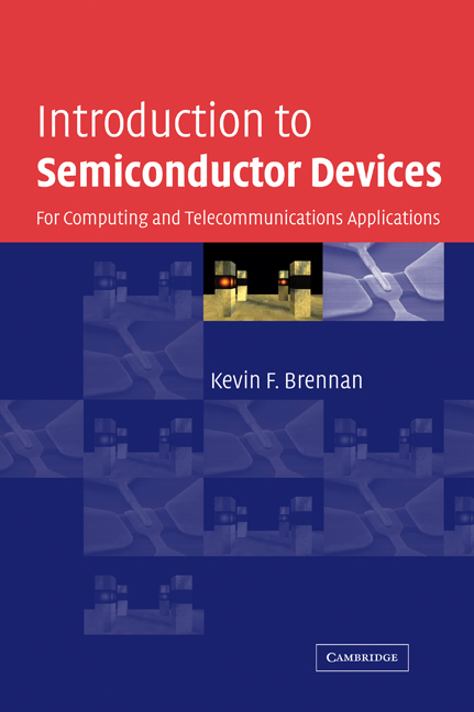 Introduction to Semiconductor Devices By: Brennan, Kevin F.