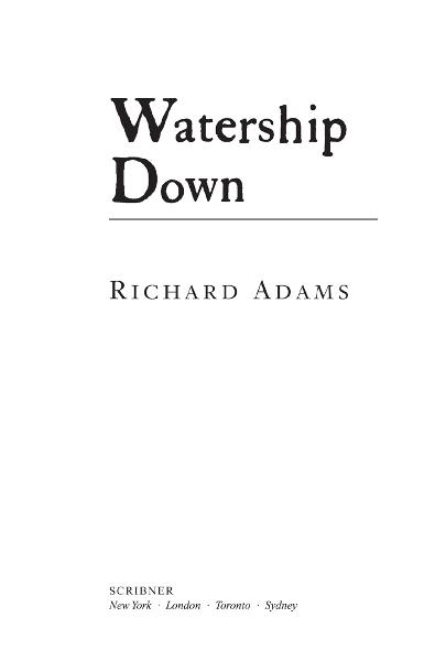 Watership Down By: Richard Adams