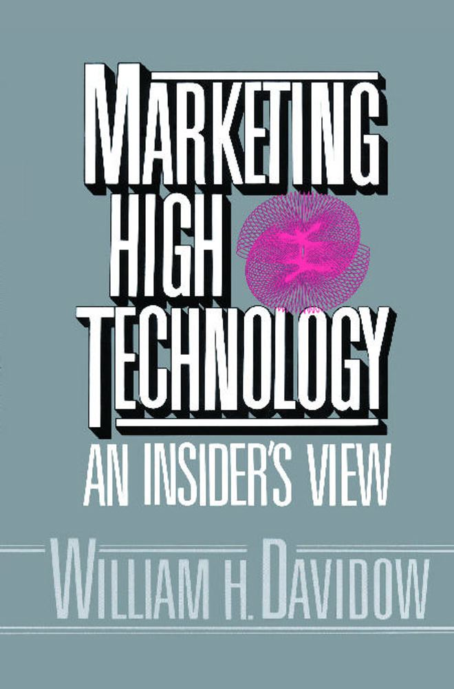 Marketing High Technology