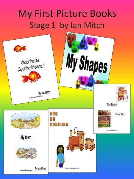 My First Picture Books By: Ian Mitch
