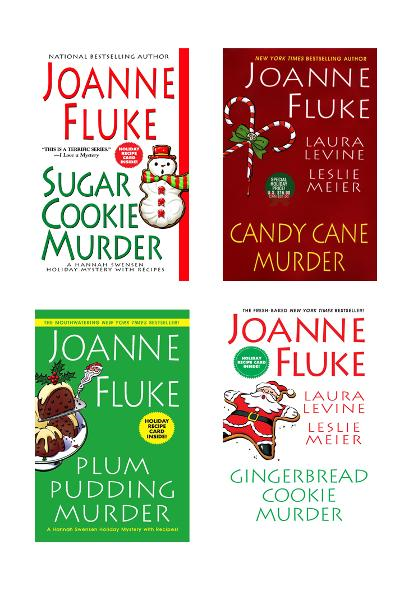 Joanne Fluke Christmas Bundle: Sugar Cookie Murder, Candy Cane Murder, Plum Pudding Murder, & Gingerbread Cookie Murder