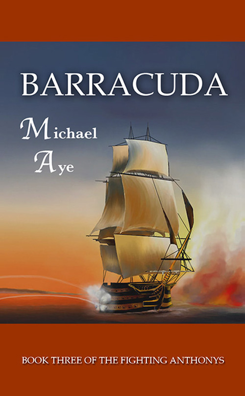 Cover Image: Barracuda: Book 3 of The Fighting Anthonys