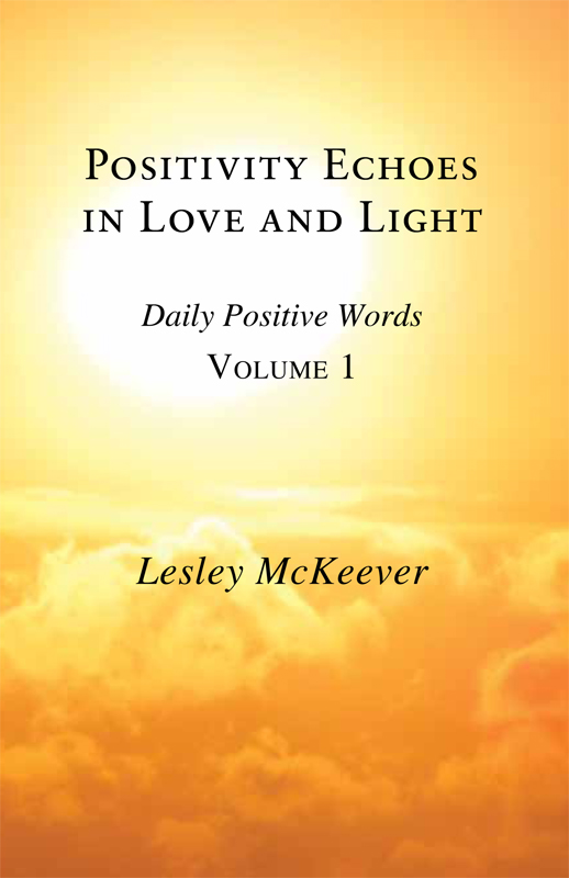 Positivity Echoes in Love and Light: Daily Positive Words