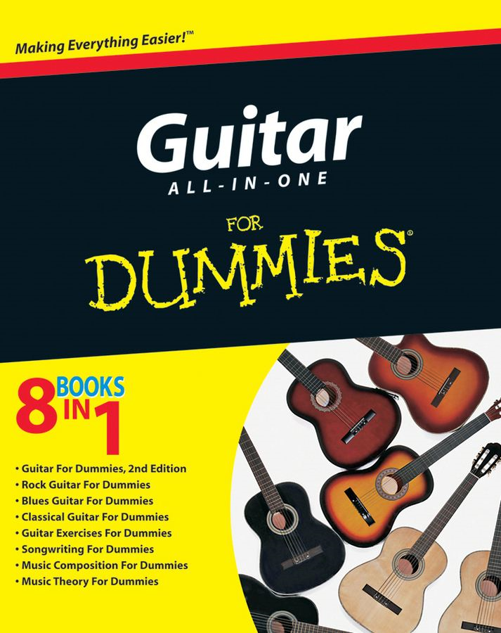 Guitar All-in-One For Dummies By: Consumer Dummies