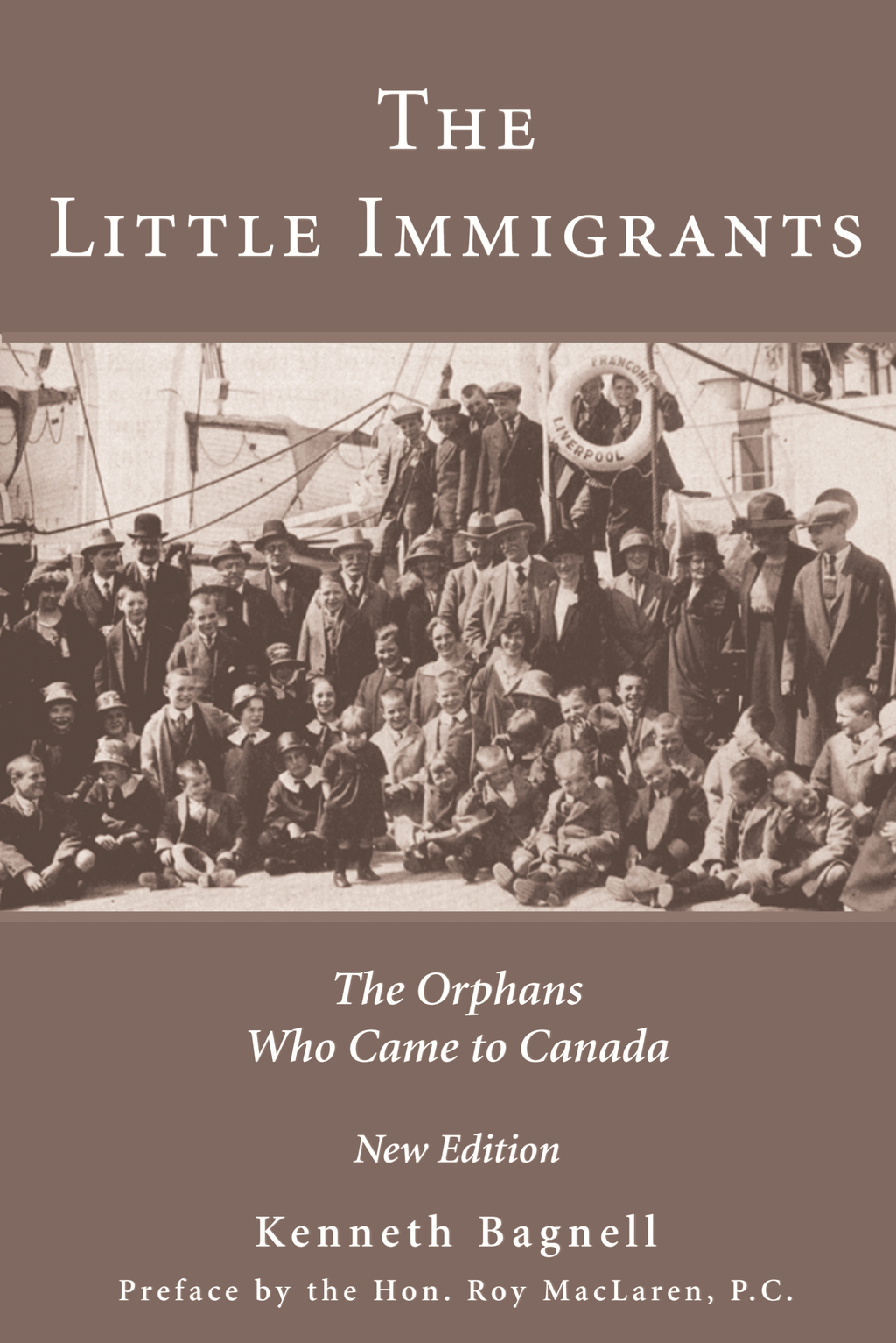 The Little Immigrants By: Kenneth Bagnell