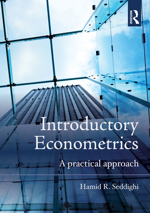Introductory Econometrics By: Hamid Seddighi